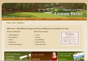 Golf Paintings Keyword