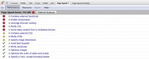 Google website speed tool