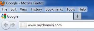 wordpress domain installation