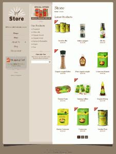 Wordpress Shopping Cart Store
