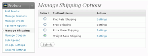 Wordpress Shopping Cart Store Config 4