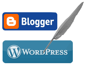 content writing logo