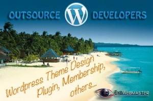outsource web developers for wordpress