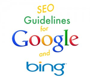 SEO Guidelines - Google and Bing Guidelines SEO Policy