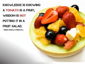 seo-knowledge not power