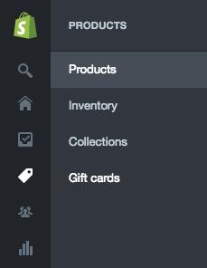 Shopify Catalog