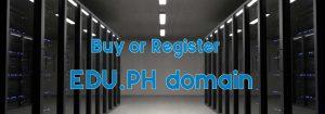 Register EDU.PH domain